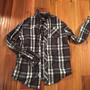 Men's flannel shirt.